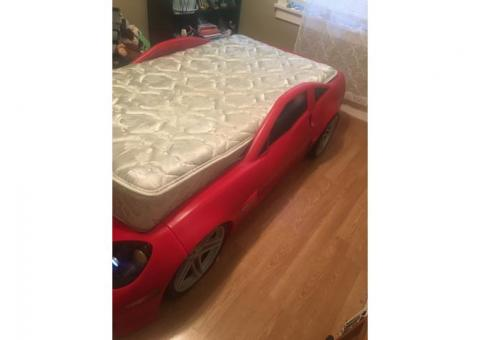 Corvette race car bed